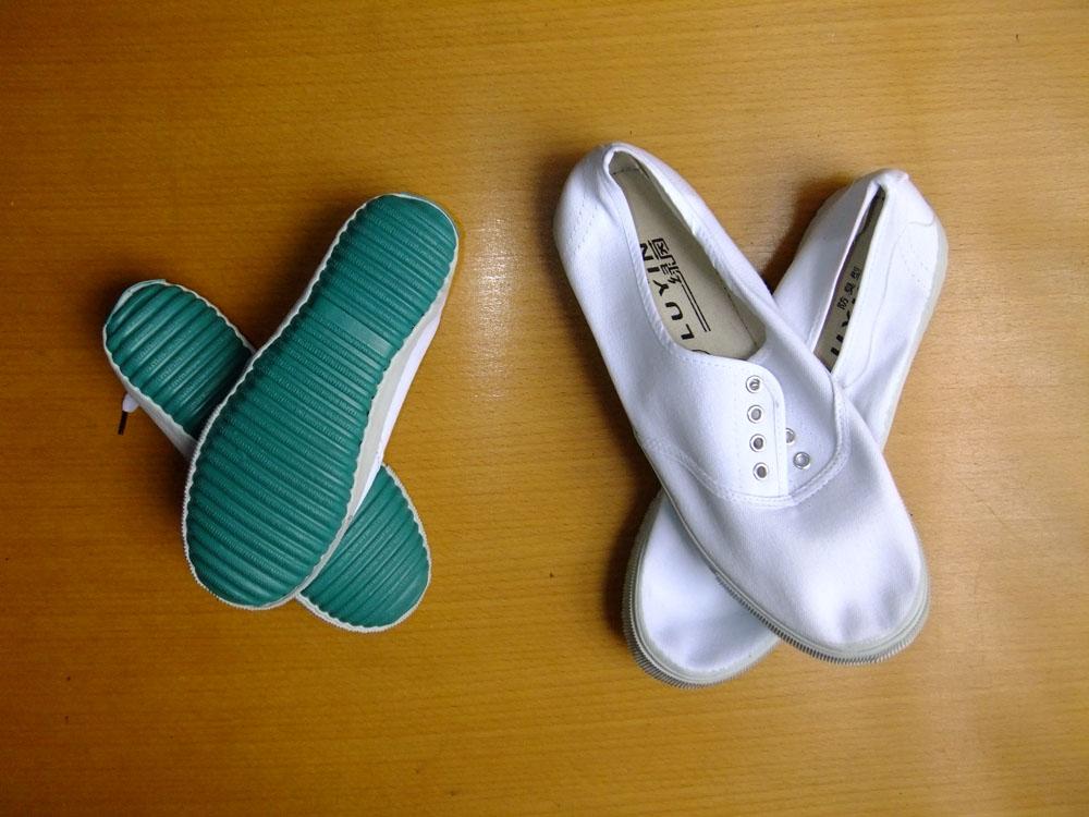 武当 服饰/商品名:白布鞋